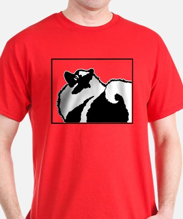 Keeshond Graphics T-Shirt