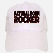 Natural Born Rocker Baseball Baseball Cap