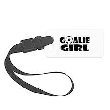 Goalie Girl - Soccer Luggage Tag