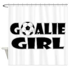 Goalie Girl - Soccer Shower Curtain
