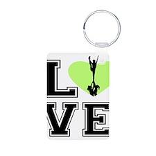 Love Cheerleading Keychains