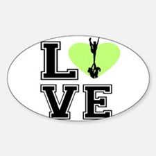 Love Cheerleading Decal
