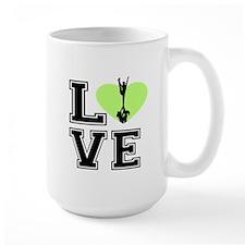 Love Cheerleading Mugs