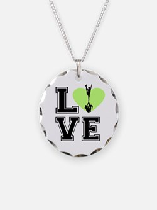 Love Cheerleading Necklace