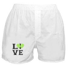 Love Cheerleading Boxer Shorts