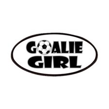 Goalie Girl - Soccer Patches