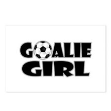 Goalie Girl - Soccer Postcards (Package of 8)
