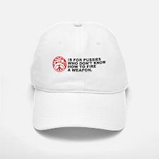 Peace is for Pussies - Baseball Baseball Cap