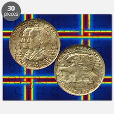 Alabama Centennial Coin Puzzle