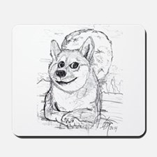 doge-moon Mousepad
