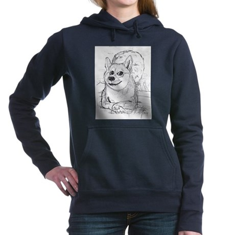 doge-moon Hooded Sweatshirt