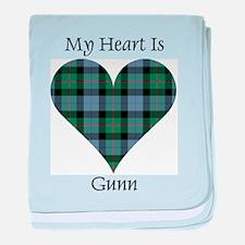 Heart - Gunn baby blanket