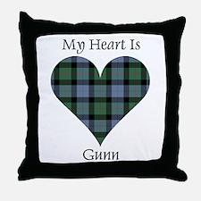 Heart - Gunn Throw Pillow