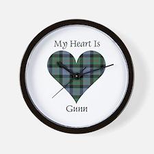 Heart - Gunn Wall Clock