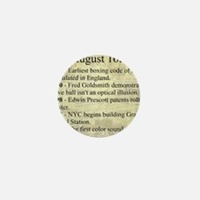 August 16th Mini Button