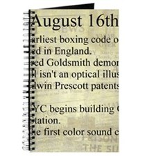 August 16th Journal