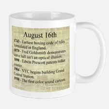 August 16th Mugs