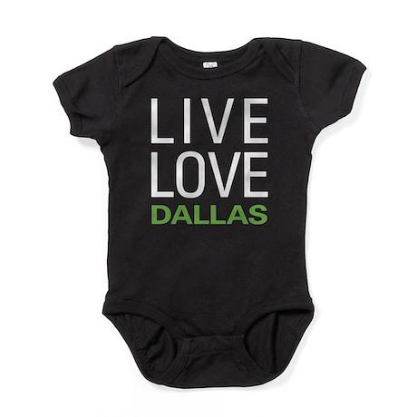 Live Love Dallas Baby Bodysuit