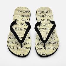 August 15th Flip Flops
