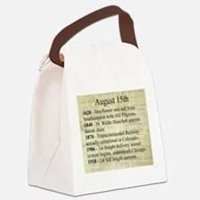 August 15th Canvas Lunch Bag