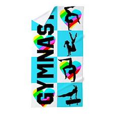 Gymnast Star Beach Towel