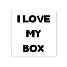 Box Love Sticker