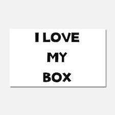 Box Love Car Magnet 20 x 12