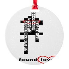 FoundLove  Ornament