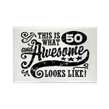 50th Birthday Rectangle Magnet