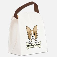 Personalized Chihuahua Canvas Lunch Bag