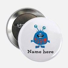 "Blue Monster (p) 2.25"" Button"