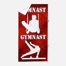 Amazing Gymnast Beach Towel