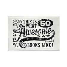 60th Birthday Rectangle Magnet