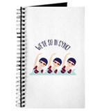 Synchronize swimming Journals & Spiral Notebooks