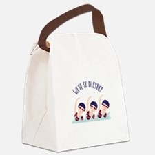 Were So in Sync Canvas Lunch Bag