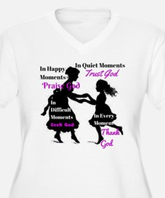 Every Moment Plus Size T-Shirt