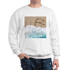 LETTERS IN SAND R Sweatshirt
