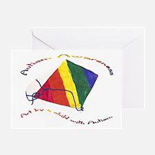 Aca Kite.jpg Greeting Cards