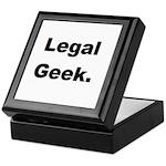 Legal Geek. Keepsake Box