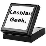 Lesbian Geek. Keepsake Box