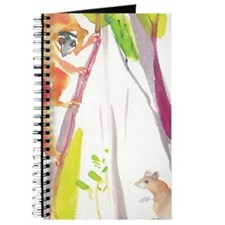 Whimsical Climbing Lemur Journal