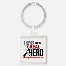 Carcinoid Cancer Real Hero 2 Square Keychain