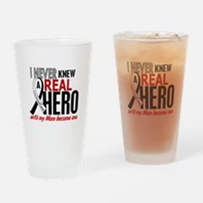 Carcinoid Cancer Real Hero 2 Drinking Glass
