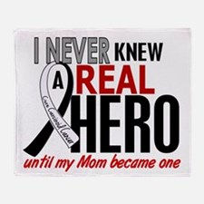 Carcinoid Cancer Real Hero 2 Throw Blanket