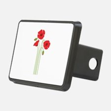 Poppy Flower Hitch Cover