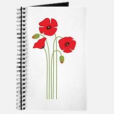 Poppy Flower Journal