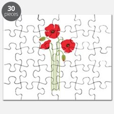 Poppy Flower Puzzle