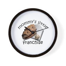 Baseball - Mom's Franchise Wall Clock