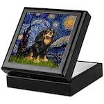 Starry Night Cavalier Keepsake Box