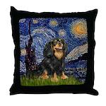 Starry Night Cavalier Throw Pillow